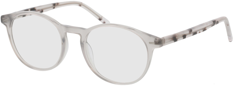 Picture of glasses model Burela Grijs/transparant in angle 330