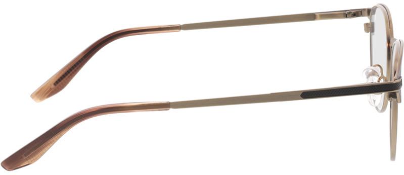 Picture of glasses model Danilo-matt schwarz matt bronze in angle 90