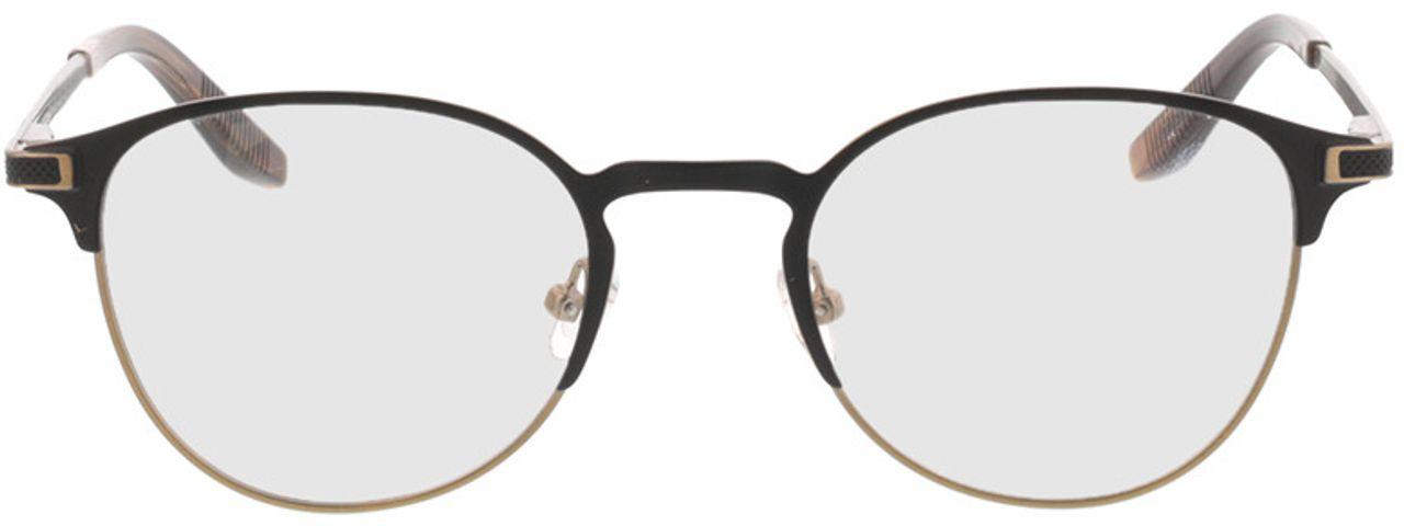 Picture of glasses model Danilo-matt schwarz matt bronze in angle 0