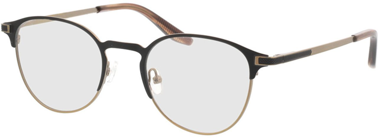 Picture of glasses model Danilo-matt schwarz matt bronze in angle 330