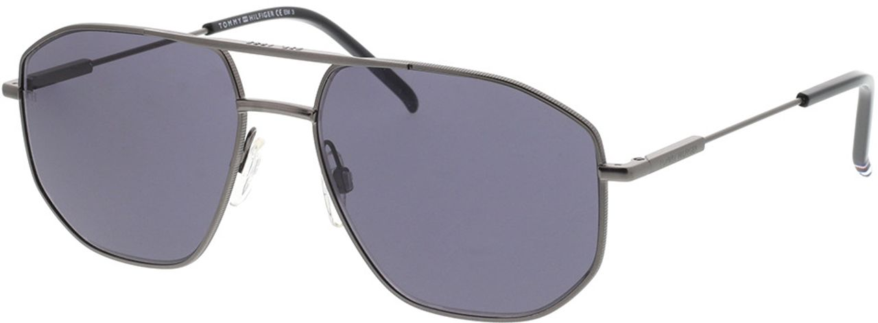 Picture of glasses model Tommy Hilfiger TH 1710/S R80 57-16 in angle 330