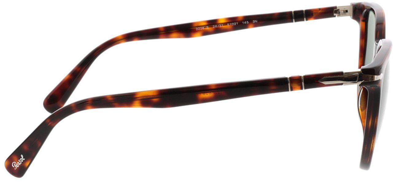 Picture of glasses model Persol PO3226S 24/31 51-21 in angle 90