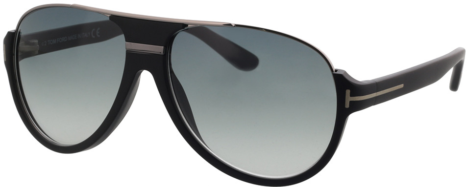Picture of glasses model Tom Ford FT0334 02W 59 14 in angle 330