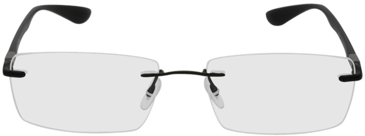 Picture of glasses model Ray-Ban RX8724 1128 56-17 in angle 0