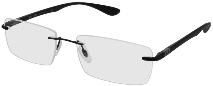 Picture of glasses model Ray-Ban RX8724 1128 56-17 in angle 330