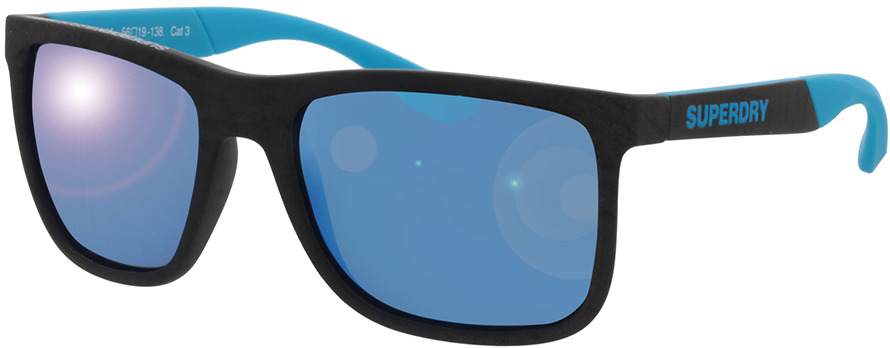 Picture of glasses model Superdry SDS Runnerx 165P grey/blue 56-19 in angle 330