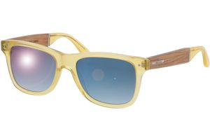 Sunglasses Schellenberg zebrano/yellow 53-18