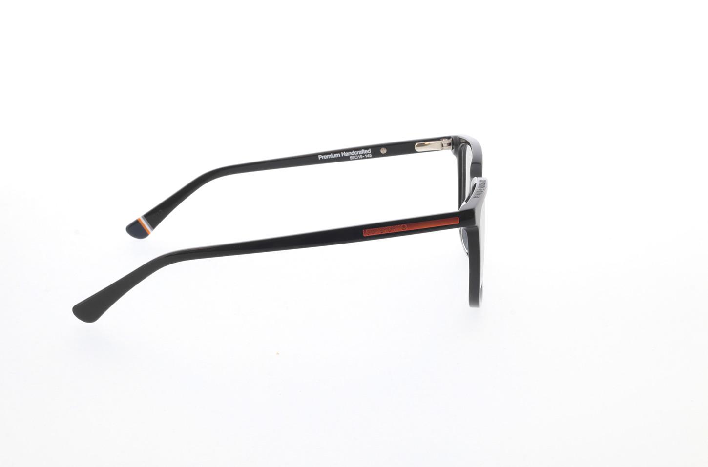 Picture of glasses model Superdry SDO Varsity 104 black/orange 55-19 in angle 90