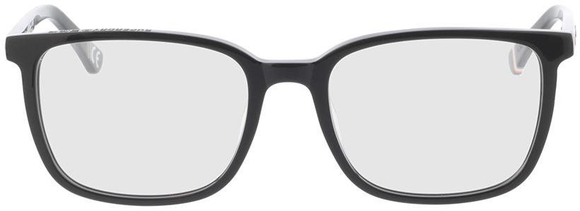 Picture of glasses model Superdry SDO Varsity 104 black/orange 55-19 in angle 0