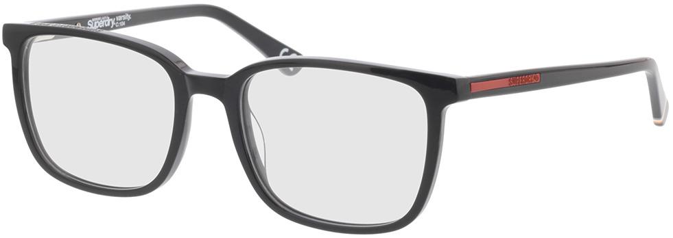 Picture of glasses model Superdry SDO Varsity 104 black/orange 55-19 in angle 330