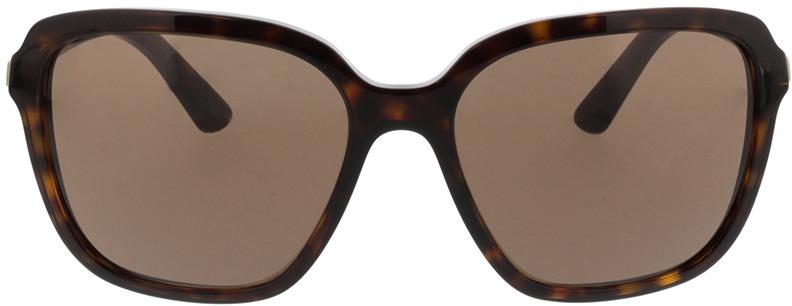 Picture of glasses model Prada PR 10VS 2AU8C1 58-17 in angle 0