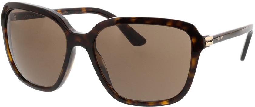 Picture of glasses model Prada PR 10VS 2AU8C1 58-17 in angle 330