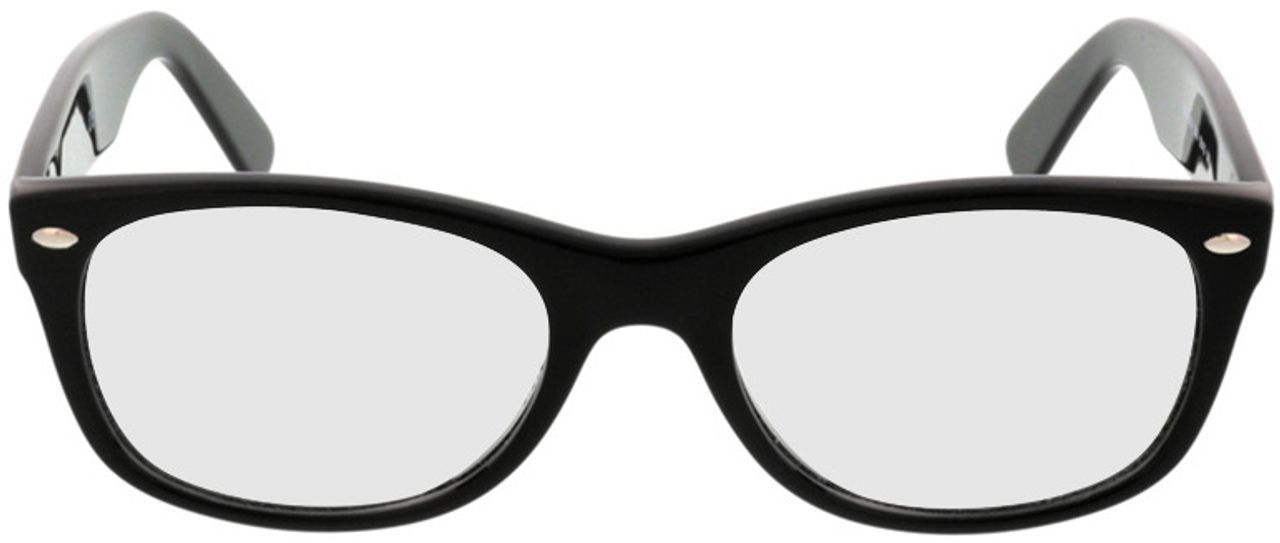 Picture of glasses model Ray-Ban New Wayfarer RX5184 2000 52-18 in angle 0