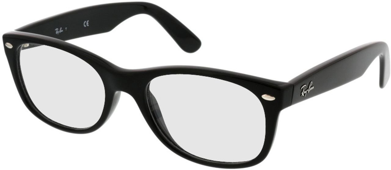 Picture of glasses model Ray-Ban New Wayfarer RX5184 2000 52-18 in angle 330