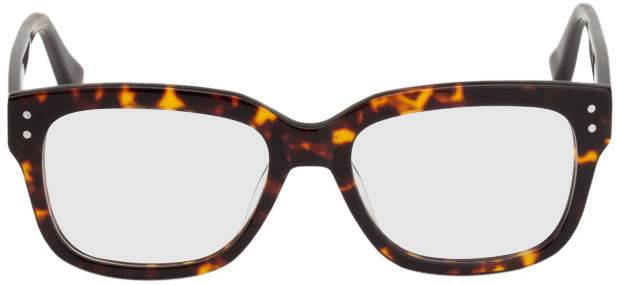 Picture of glasses model Limoges brown/patterned in angle 0