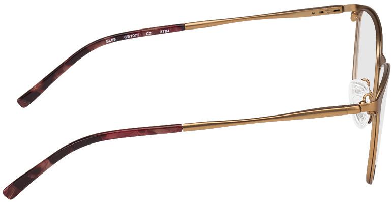 Picture of glasses model Bukarest-kupfer in angle 90