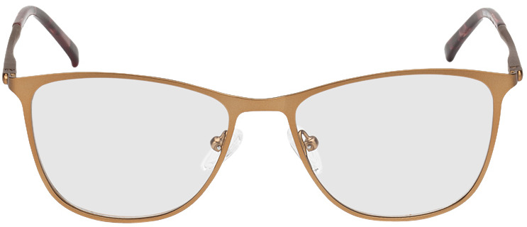 Picture of glasses model Bukarest-kupfer in angle 0