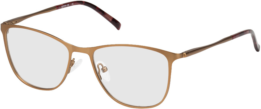 Picture of glasses model Bukarest-kupfer in angle 330