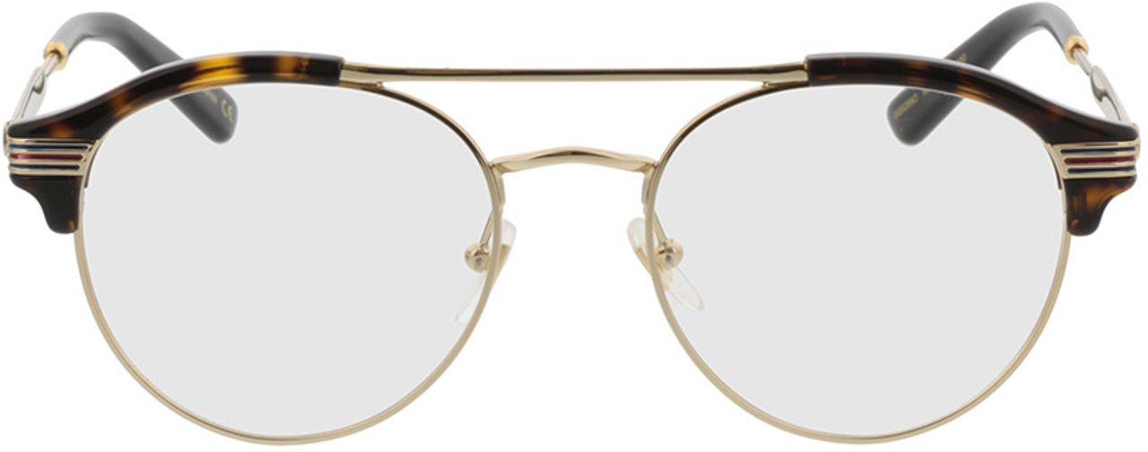 Picture of glasses model Gucci GG0289O-002 51-18 in angle 0