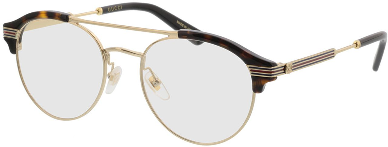 Picture of glasses model Gucci GG0289O-002 51-18 in angle 330