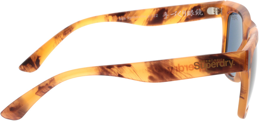 Picture of glasses model Superdry SDS Byronville 122 helles havanna 53-21 in angle 90