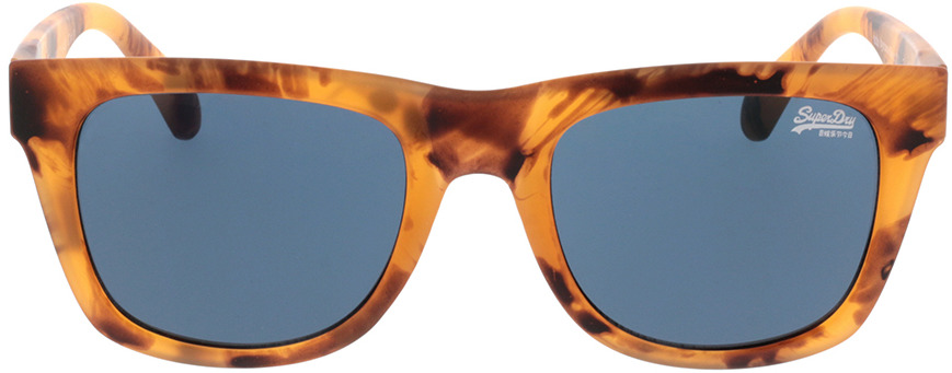 Picture of glasses model Superdry SDS Byronville 122 helles havanna 53-21 in angle 0