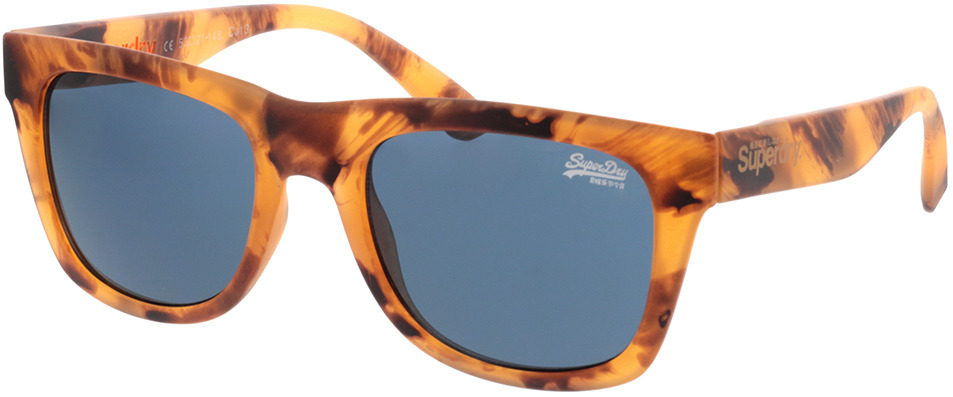 Picture of glasses model Superdry SDS Byronville 122 helles havanna 53-21 in angle 330