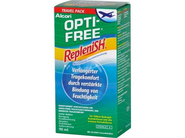 OPTI-FREE® RepleniSH® Travel Pack 90ml