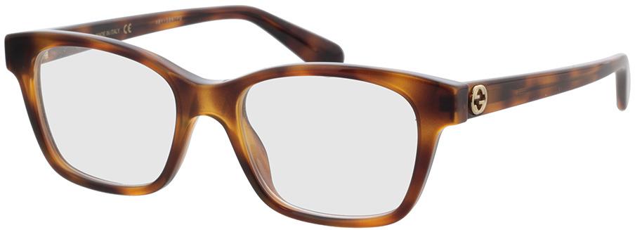 Picture of glasses model Gucci GG0922O-002 49-17 in angle 330