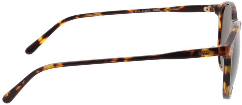 Picture of glasses model Polo PH4110 513473 50 21 in angle 90