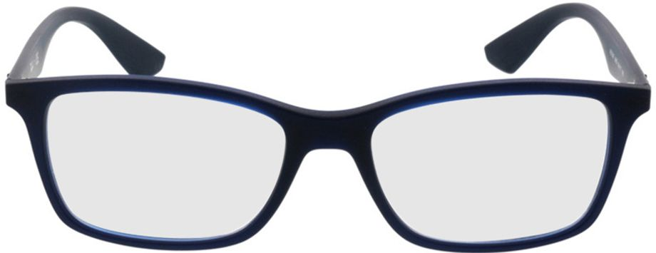 Picture of glasses model Ray-Ban RX7047 5450 54-17 in angle 0