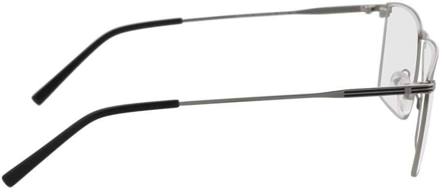 Picture of glasses model Peto-silber/schwarz in angle 90