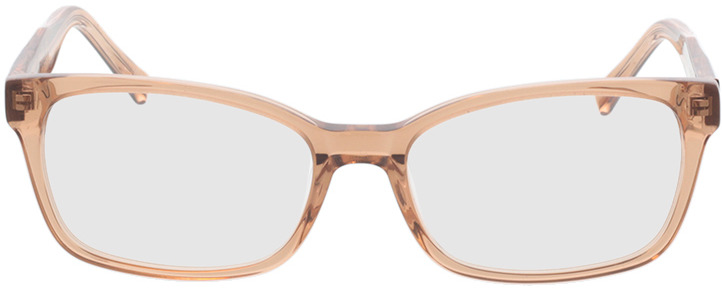 Picture of glasses model Gustelle-apricot transparent in angle 0