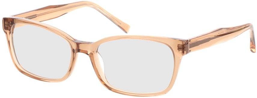 Picture of glasses model Gustelle-apricot transparent in angle 330