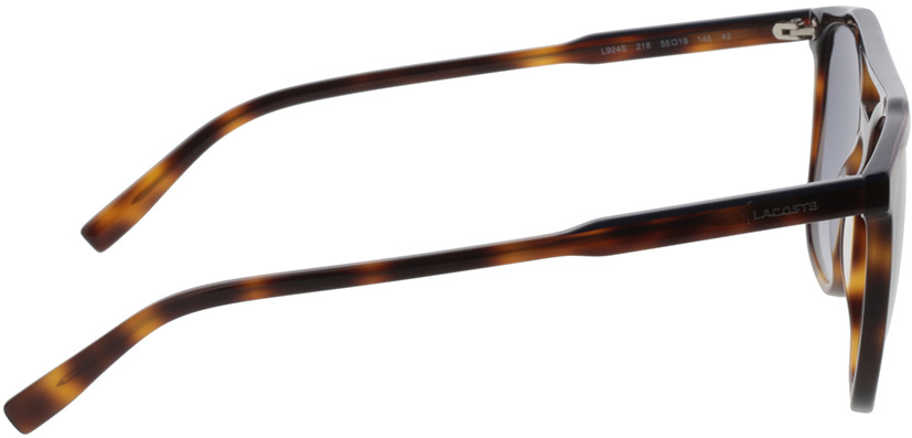 Picture of glasses model Lacoste L924S 218 55-19 in angle 90
