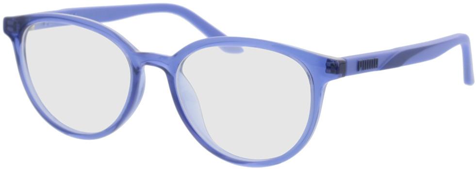 Picture of glasses model Puma PU0346O-002 52-17 in angle 330
