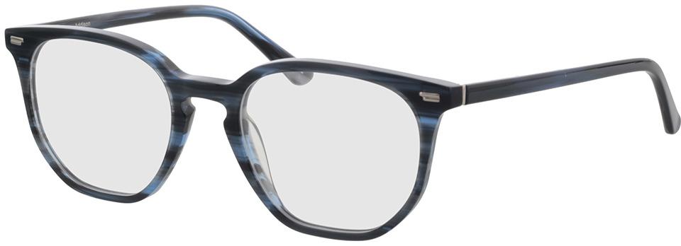 Picture of glasses model Addison blauw-gevlekt in angle 330