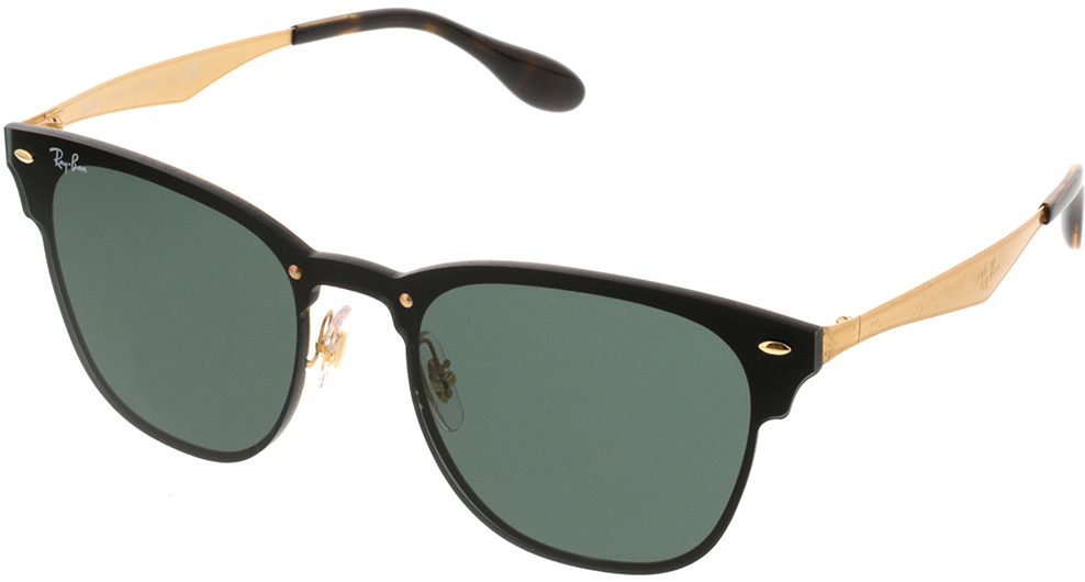Picture of glasses model Ray-Ban Blaze Clubmaster RB3576N 043/71 41-22 in angle 330