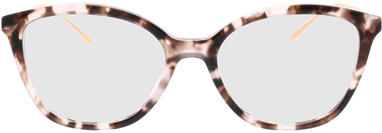 Picture of glasses model Prada PR 11VV ROJ1O1 53-17 in angle 0