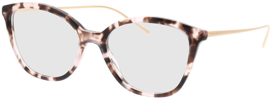Picture of glasses model Prada PR 11VV ROJ1O1 53-17 in angle 330