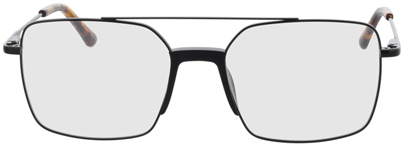 Picture of glasses model El Paso-noir in angle 0