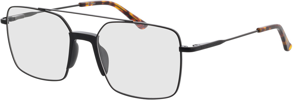 Picture of glasses model El Paso-noir in angle 330