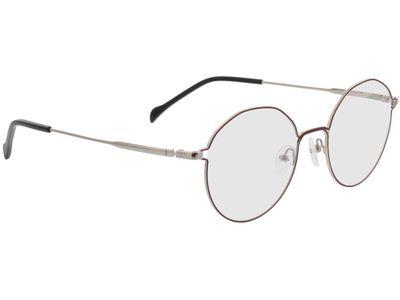 Brille Henderson-rot/silber