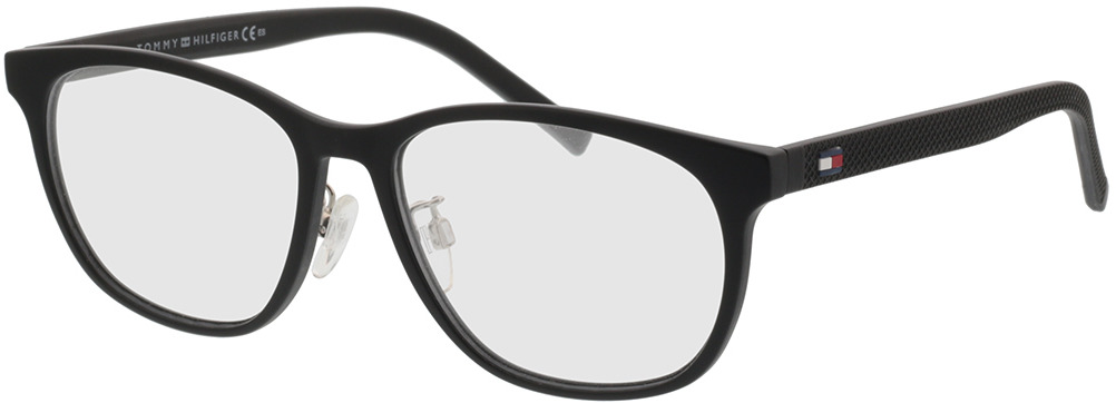 Picture of glasses model Tommy Hilfiger TH 1793/F 003 56-17 in angle 330