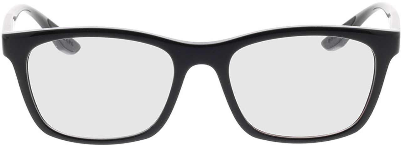 Picture of glasses model Prada Linea Rossa PS 02NV 1AB1O1 53-18 in angle 0