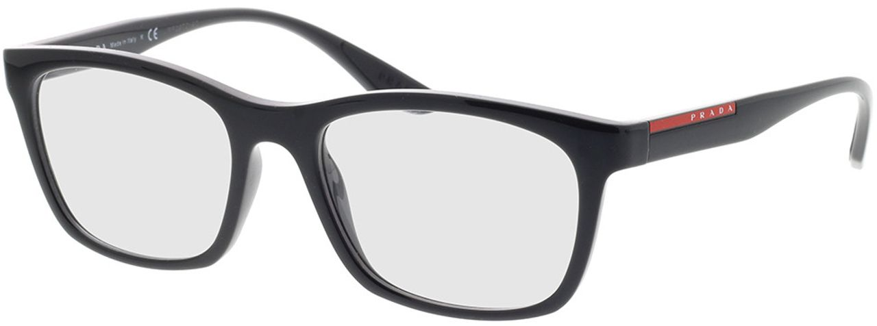 Picture of glasses model Prada Linea Rossa PS 02NV 1AB1O1 53-18 in angle 330