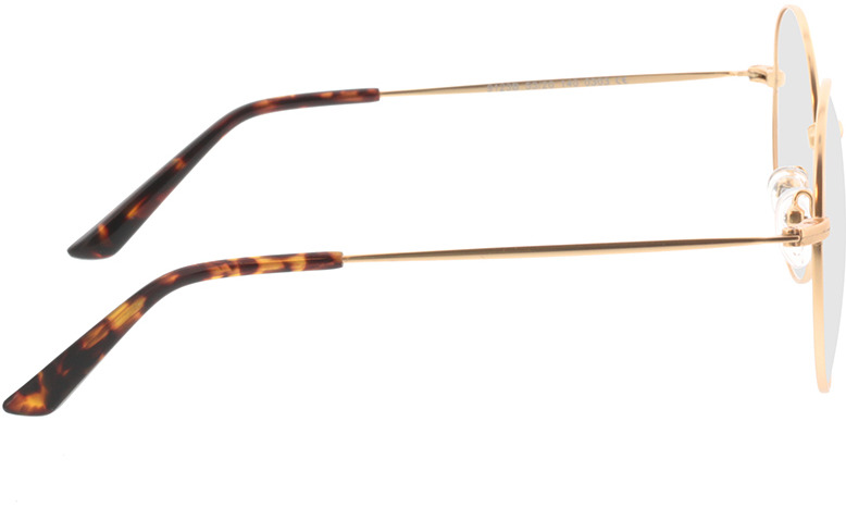 Picture of glasses model Orsa-gold in angle 90