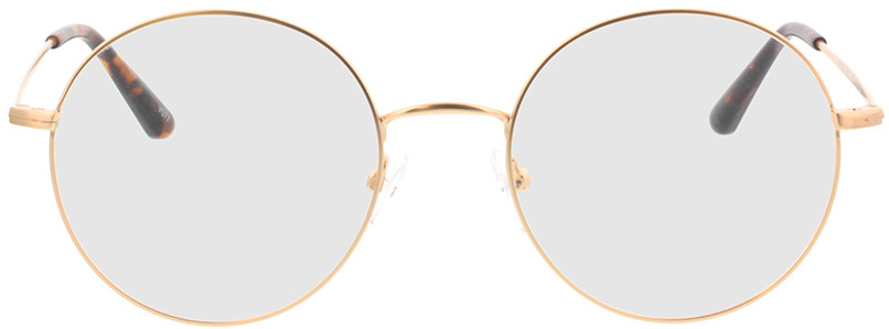 Picture of glasses model Orsa-gold in angle 0