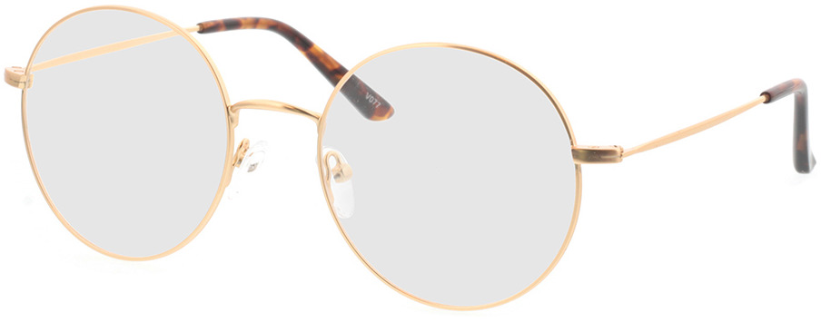 Picture of glasses model Orsa-gold in angle 330
