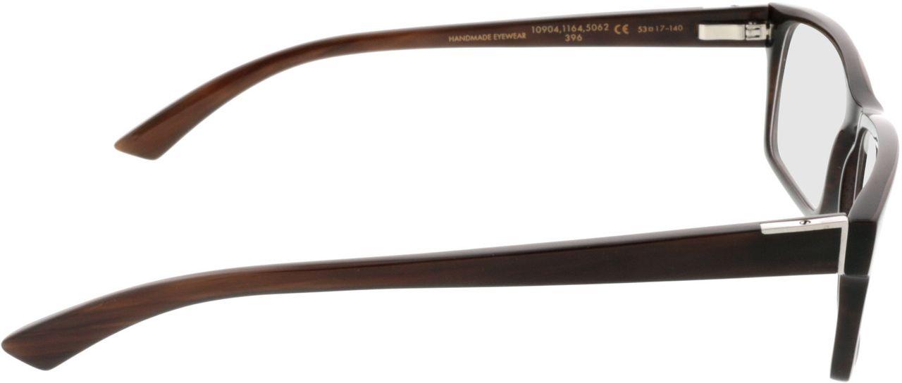 Picture of glasses model Wood Fellas Optical Maximilian espresso 53-17 in angle 90